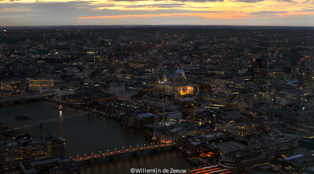 View From The Shard London United Kingdom