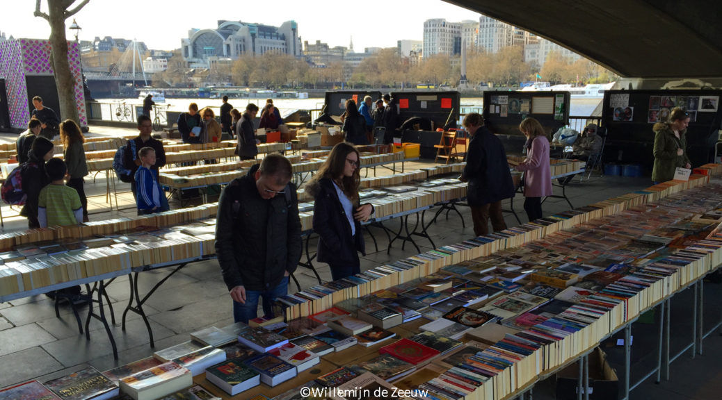 waterloo bridge books London United Kingdom