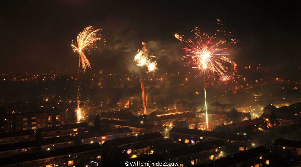 New Year's fireworks The Netherlands