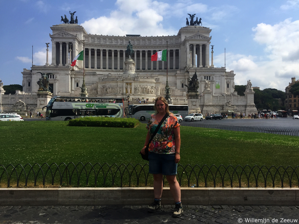 Two days in Rome - Altare della Patria
