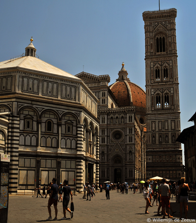 Panoramic photo florence italy