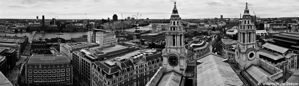 Panoramic photo London