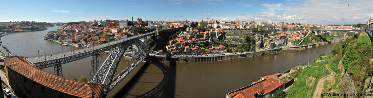 Panoramic photo Porto