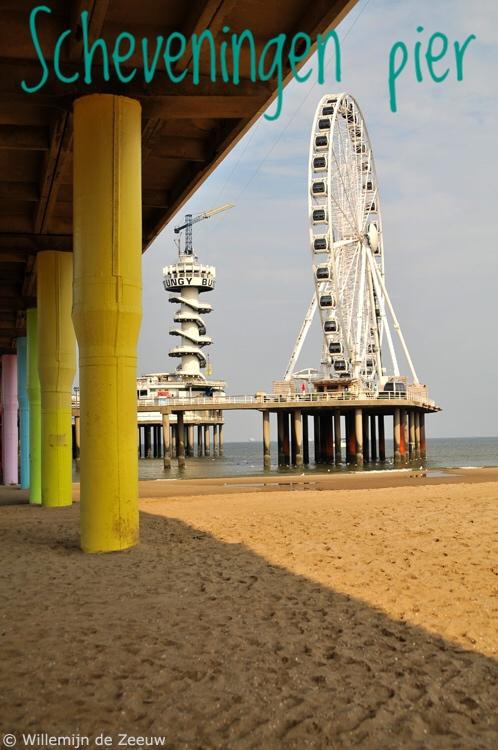 Day trip Scheveningen pier beach ferris wheel