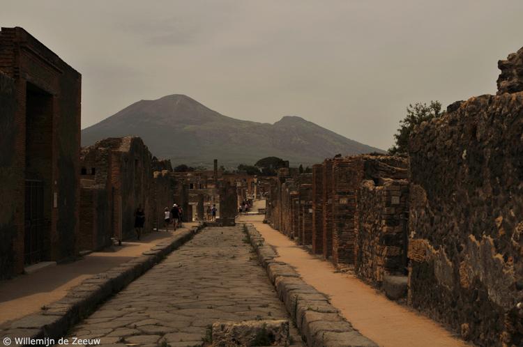 Italy Pompeii Vesuvio