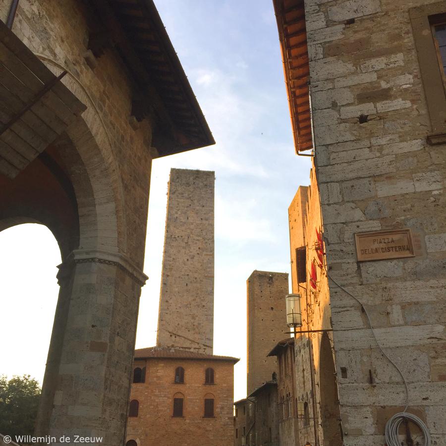 Italy San Gimignano towers