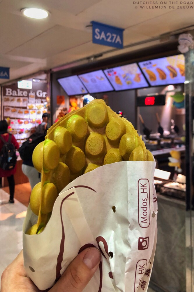 DIY food tour of Hong Kong: egg waffles