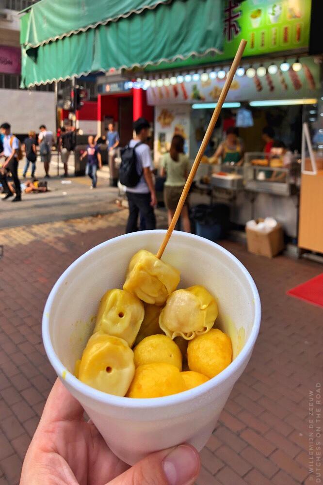 DIY food tour Hong Kong