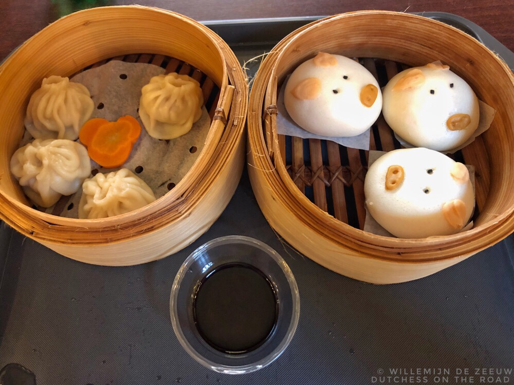 Disneyland dim sum in Hong Kong